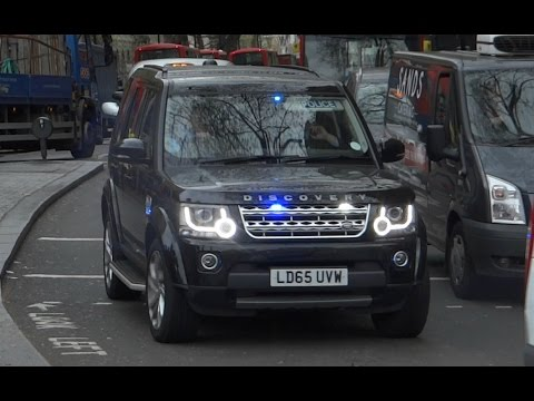 Metropolitan Police - Unmarked Land Rover Discovery On An Emergency Call