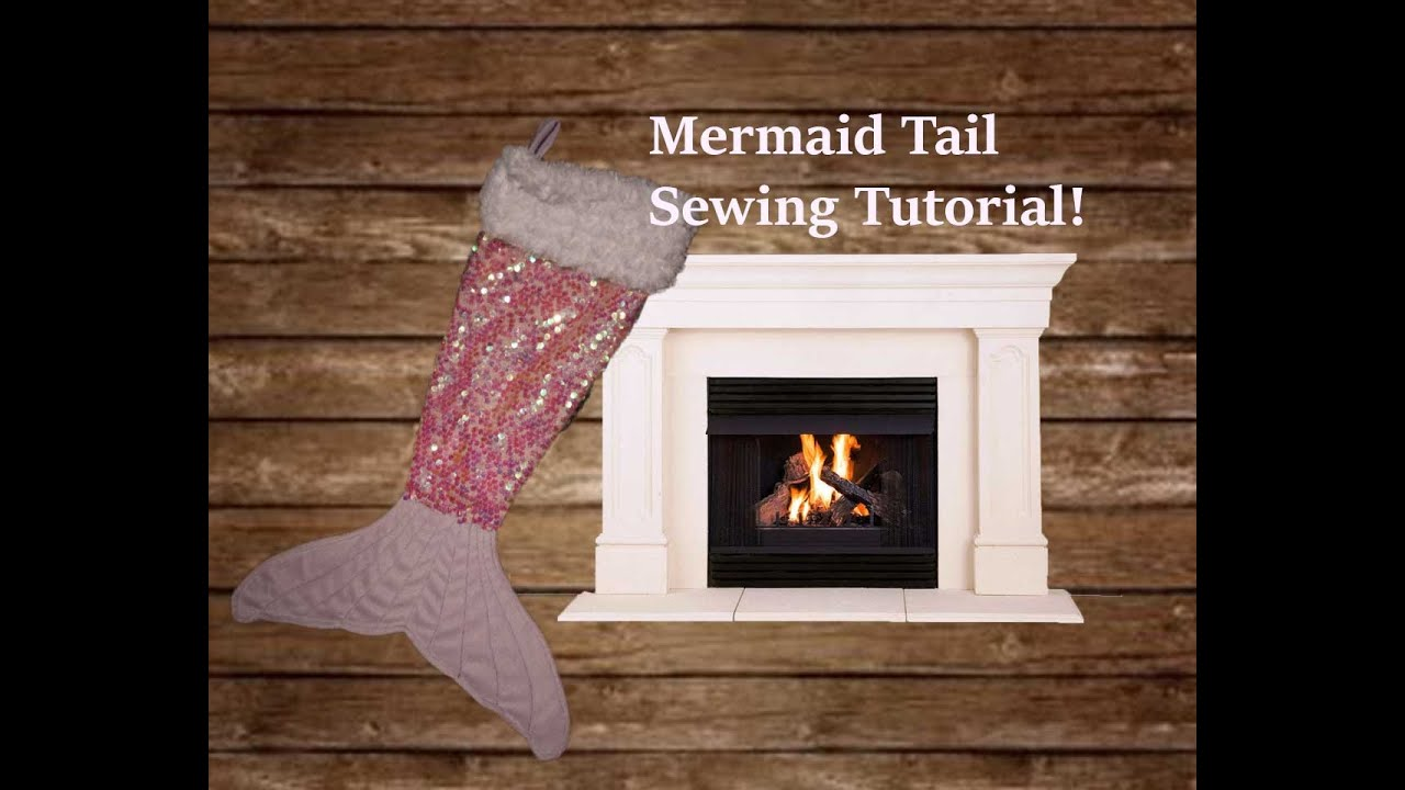 Diy mermaid tail stocking tutorial youtube jeuxipadfo Gallery