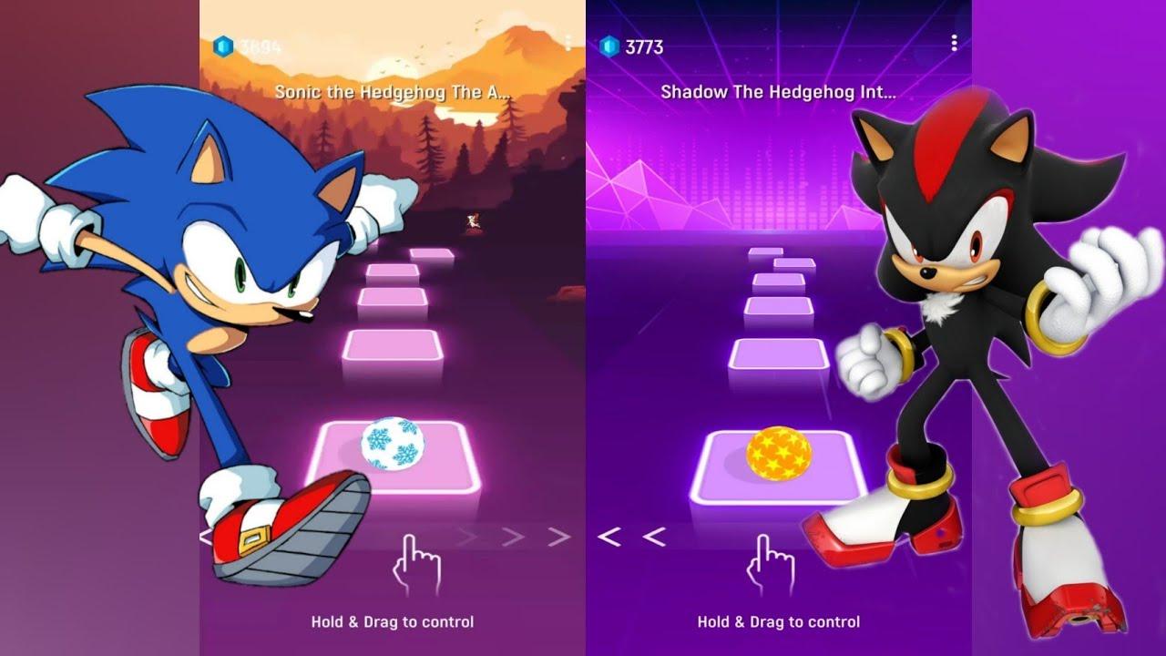 Download Sonic Vs Shadow - Tiles Hop