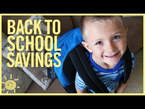 BUDGET | Back to School Spending Tips