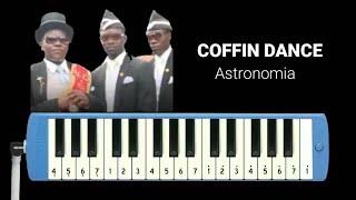 Download lagu Not Pianika Coffin Dance - Astronomia