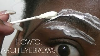 HOW TO I ARCH YOUR EYEBROWS