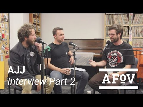 Andrew Jackson Jihad (Sean Bonnette) Interview with A Fistful of Vinyl on KXLU 88.9 FM [Part 2]