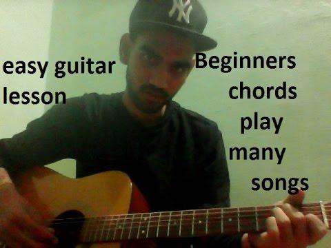 BEGINNERS CHORDS & 5 SONGS pani da rang,humnava,ambarsariya,sadi galli aaja
