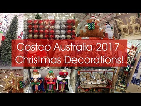 costco australia christmas decorations tour 2017