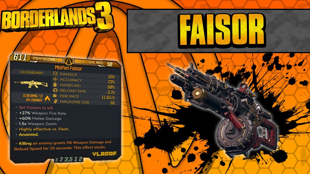 Borderlands 3 | Faisor Legendary Weapon Guide (Energy Bolts!) thumbnail