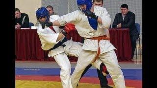 Соревнования по рукопашному бою.