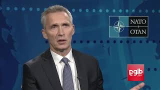 NATO Chief Emphasizes Need For Political Solution