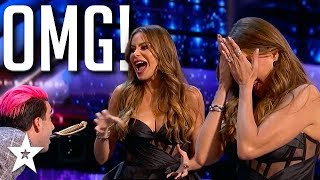 Sofia Vergara Runs Off Stage At Possible Act Disaster On Agt 2020 | Got Talent Global