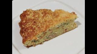 CAKE MAGIQUE AU THON  FACILE (RECETTE SALÉE) (CUISINE RAPIDE)