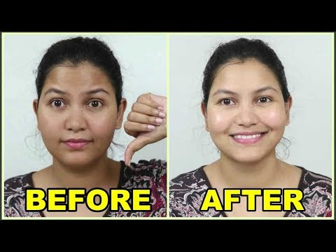 (winter special) Facial at home / skin brightening, glowing skin with milk facial