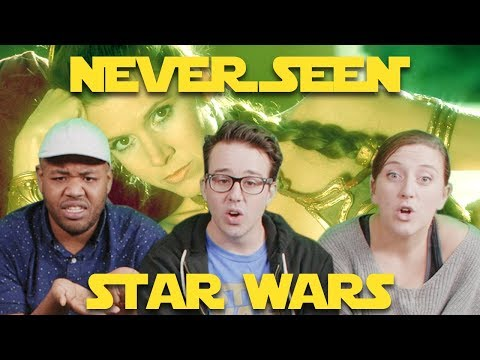 Adults Watch STAR WARS For The First Time   RETURN OF THE JEDI