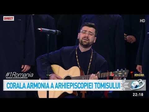 Moment impresionant pe note muzicale! Corala Armonia în platoul Antena 3