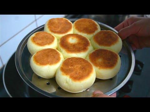 想吃面包别出去买了,西北小强妈妈教你用平底锅做,比买的好吃