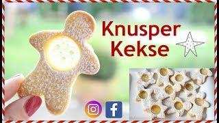 Knusper Kekse 2# - schnell und einfach - BACKLOUNGE Rezept - Meine Weihnachtsbäckerei Rezept