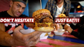 DONT HESITATE... JUST EAT | EPIC CHEAT MEAL!