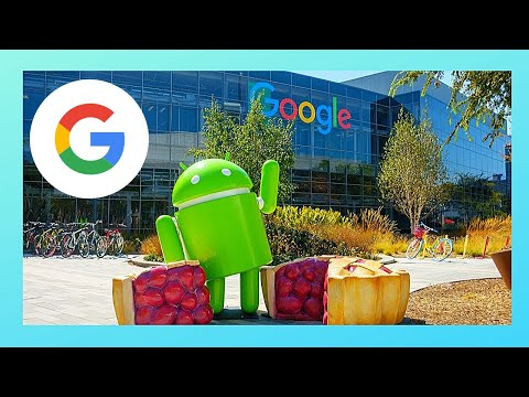 GOOGLE'S peculiar 'ANDROID' BUILDING in Mountain View (California, USA)