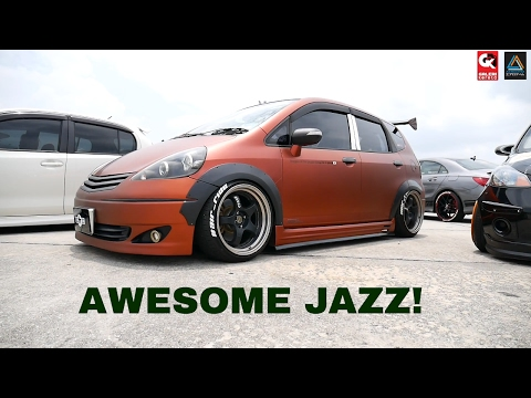 Honda Jazz GD With Custom Colour And Air Suspension