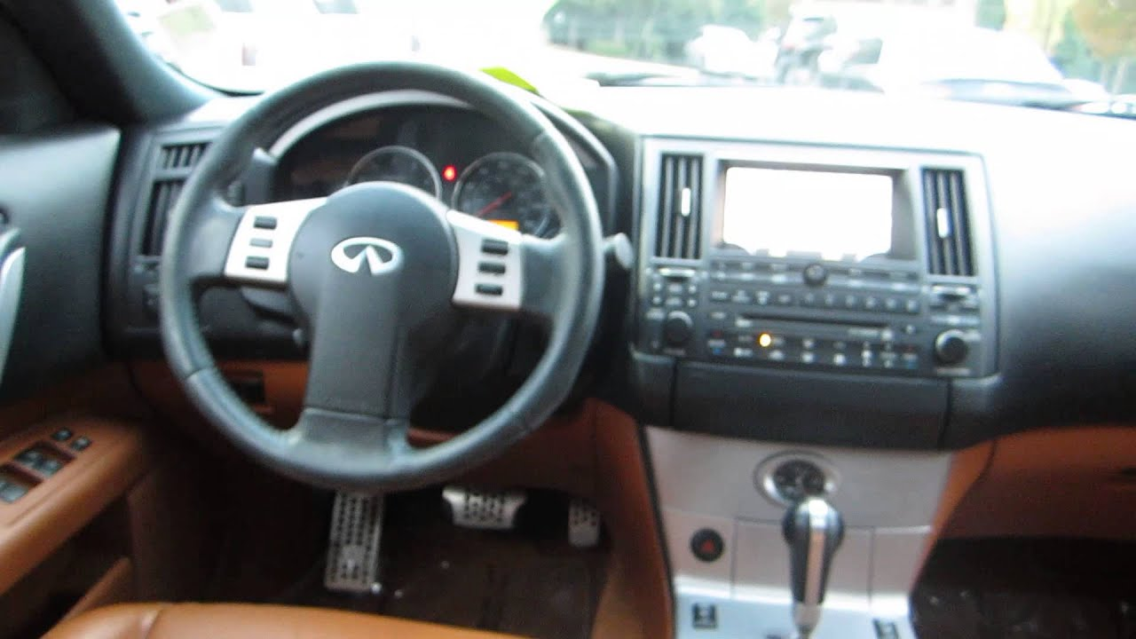2003 infiniti fx35 black obsidian stock 13465b for Inside 2007 online