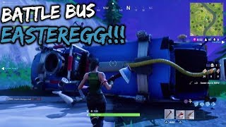FORTNITE BATTLE ROYALE BUS MYSTERY FORTNITE SECRET LOCATION