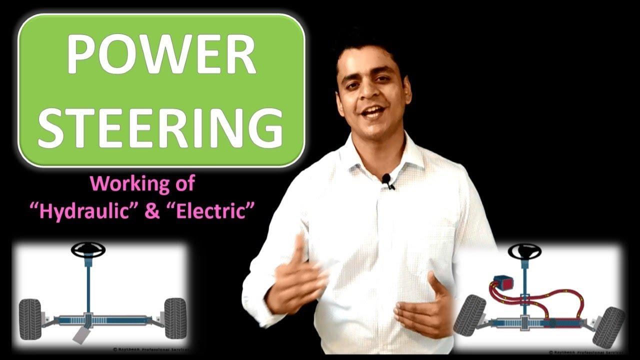 Power Steering(पावर स्टीयरिंग )- Hydraulic vs Electric: Twizards Automobile