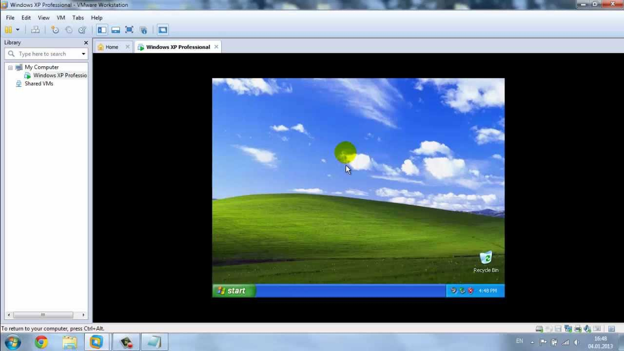 Образ windows 7 для vmware player