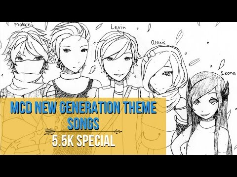 THE NEW GENERATION - MCD Kids Theme Songs (5.5K SPECIAL whoops)