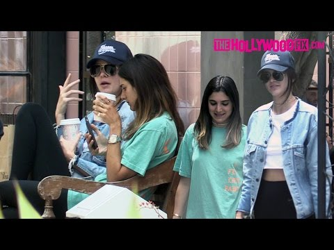 Kendall Jenner Stops For Coffee With Her BFF Lauren Perez Before Heading To The Salon 5.28.16