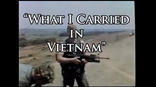 What I Carried in Vietnam War