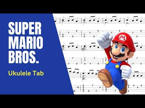 Sungha Jung - Super Mario Theme [Ukulele Tutorial] (Tablature)