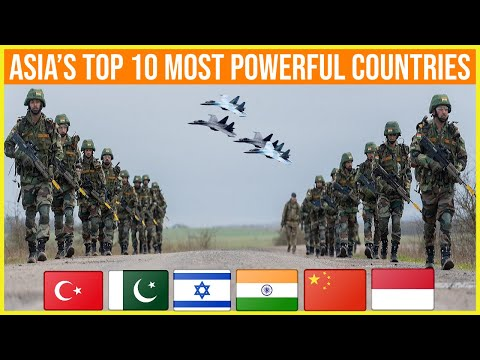 ASIA'S TOP 10 MOST POWERFUL COUNTRIES 2021.