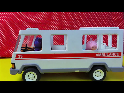 Playmobil 1994 Toy Ambulance 33