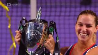 Winner Dominika Cibulková WTA Singapore 2016