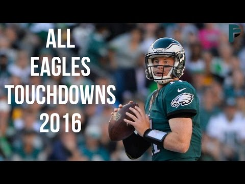 ALL Philadelphia Eagles Touchdowns 2016 ᴴᴰ