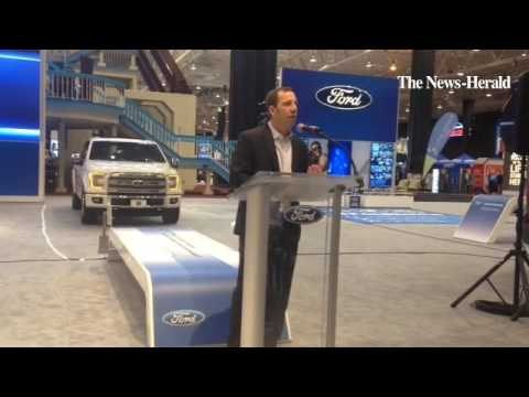 Cleveland Engine Plant manager Kevin Heck talked about Ford Motor Company's $145 million upgrade of