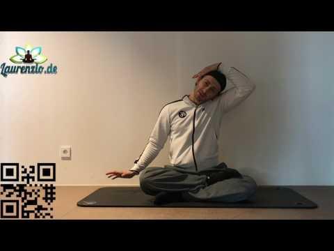Laurenzio Yoga Frankfurt - Business Yoga für Hals und Nacken - Neu bei Youtube in Deutsch.
