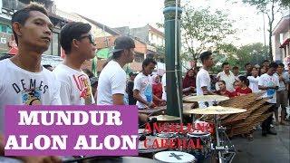 Download Lagu Mundur Alon Alon Versi Angklung // Cover Angklung Carehal ~ Angklung Malioboro Yogyakarta mp3