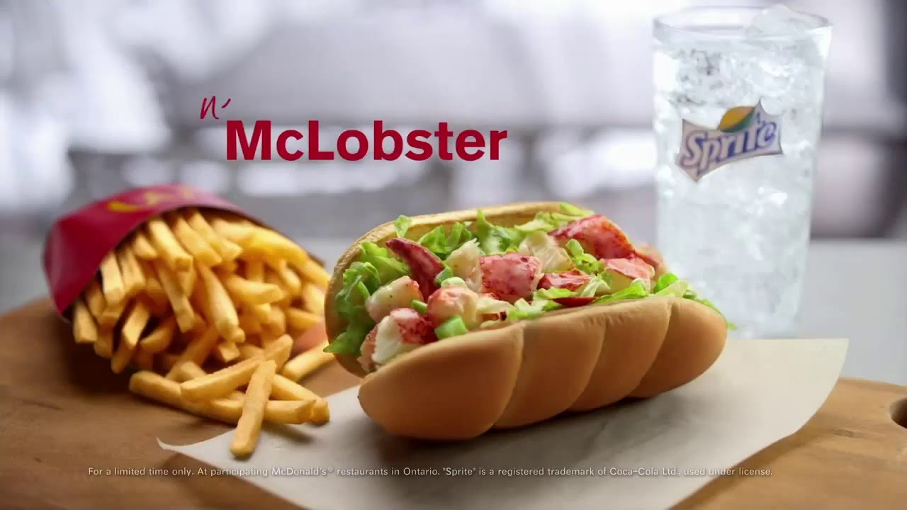 Retro: Weird Items that Disappeared Off the Menu - McLobster