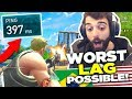 You CAN'T WIN with THIS LAG on Fortnite Battle Royale!