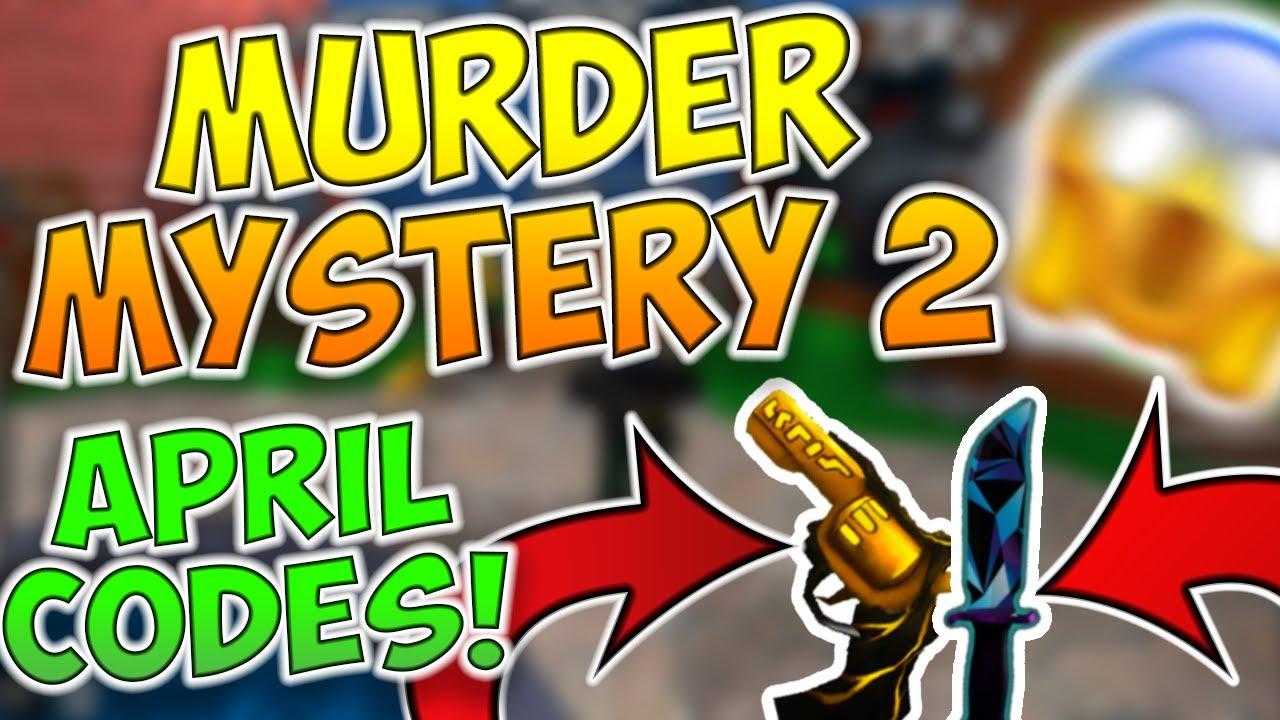 Codes For Murderer Mystery 2