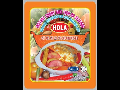 HOLA Instant Curry Fish & Seafood