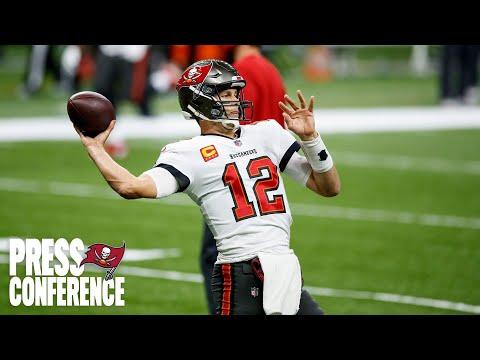 Tom Brady on NFC Championship, Road Win Streak | Press Conference