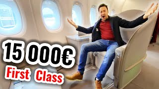 The Airplane Seat which costs $15 000 ! (First class)