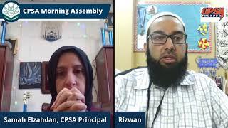 CPSA Morning Assembly Friday 4-16-2021