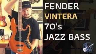 VINTERA 70's Jazz Bass by Fender.