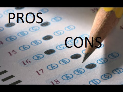 pros and cons of standardized education Free essay: standardized testing is a down fall to many students but also an opportunity for many others standardized testing has its pros and its cons it.