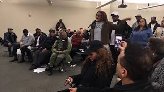 Woman calls for Grand Rapids police chief to resign