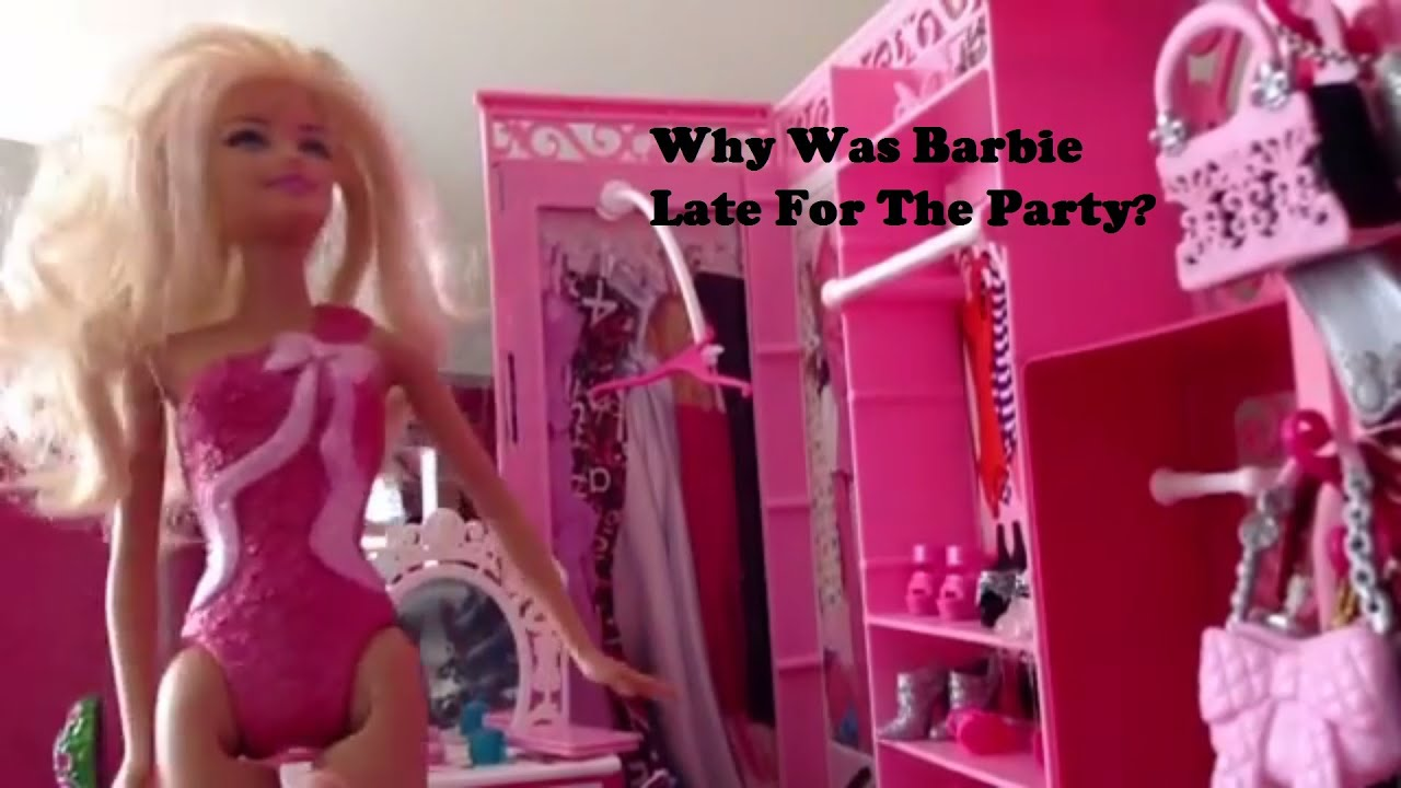 Uncategorized Videos Barbie Videos barbie is 2 hours late for a party funny dreamhouse video video