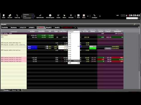 Interactive Brokers Order Management - March 28, 2016