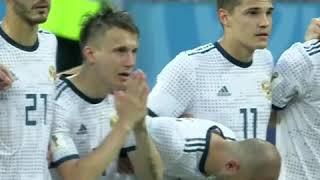 Акинфеев отбивает пенальти на ЧМ Россия Испания